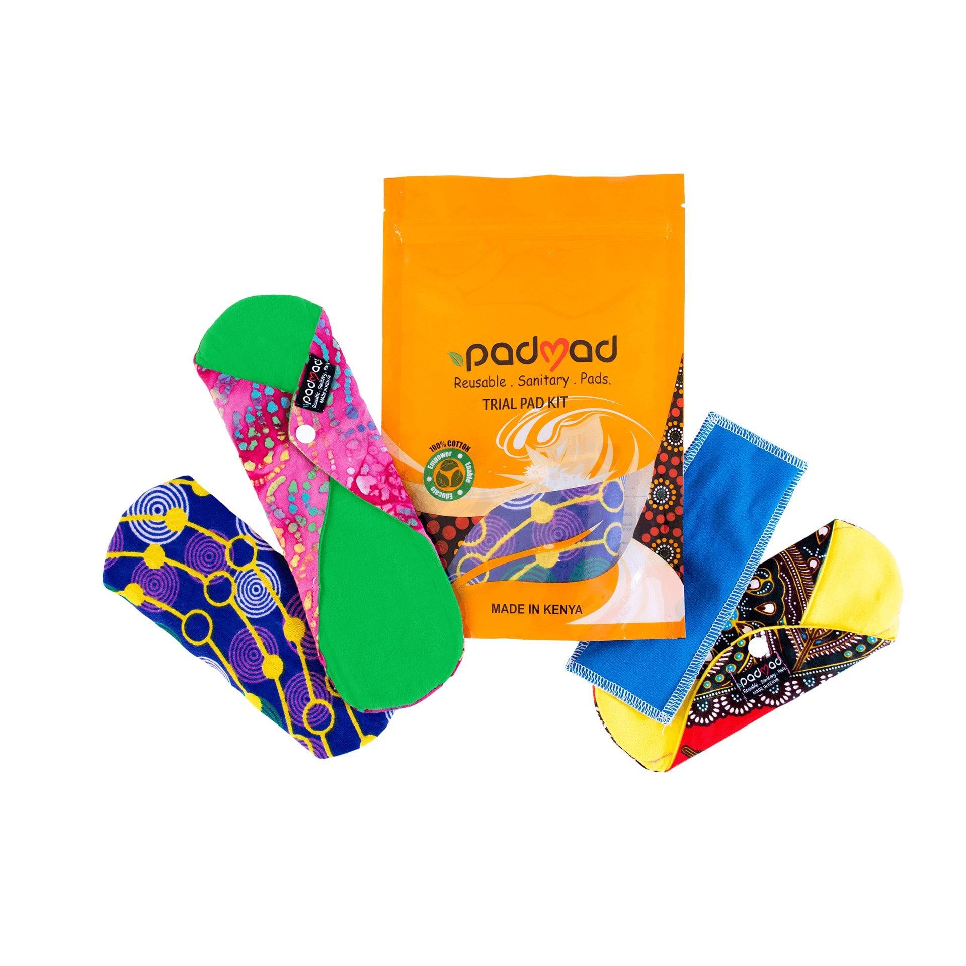 trial kit sanitary pads