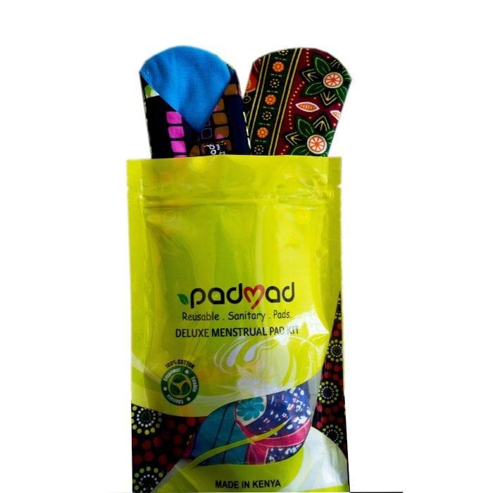 Deluxe Menstrual Pad Kit reusable